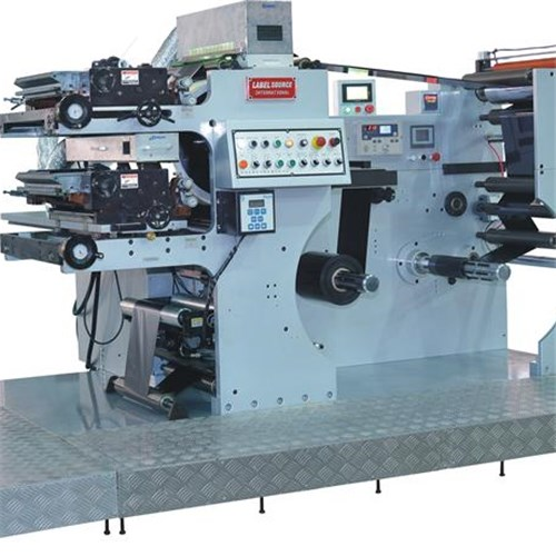 2 Color Adhensive Paper Full Rotary Letterpress Machine