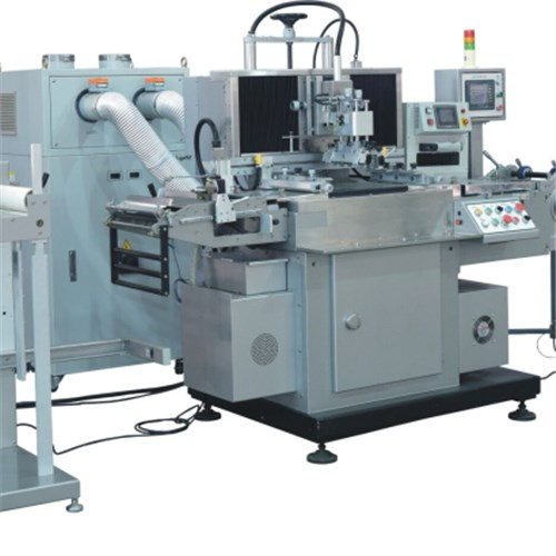 Single Color Silk-Screen Printing Machine