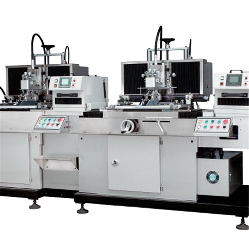 Two Color CNC Flexible Tube Silk-Screen Printing Machine