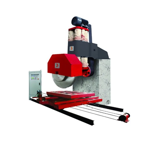 Single Arm Multi Blades Stone Block Cutting Machine