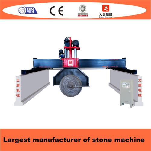 Bridge Type Multi Blades Stone Block Cutting Machine With 4 Pillars